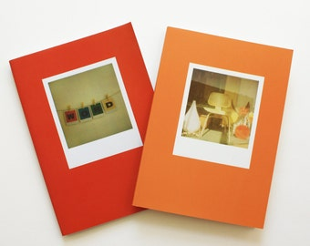 polaroid photography book combo : chairs and W O R D