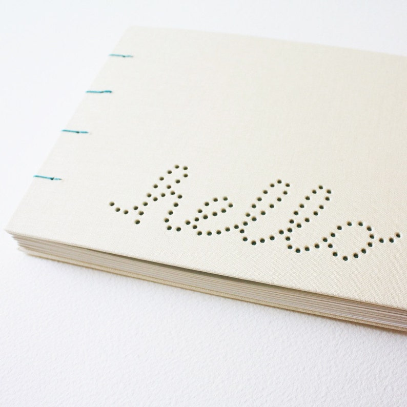 hello blank journal ... off white image 0
