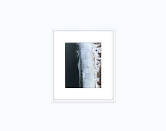 mississippi ice x : FRAMED giclée print