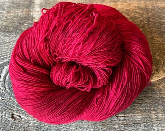Paintbrush Teton Yarn Company Rainier Fingering Color Dyed Yarn Merino Indie Dyed Shawl 150 Gram Skein