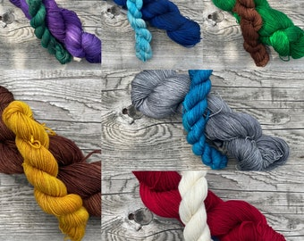 Create Your Own Sock and Mini Skein Sock Kit