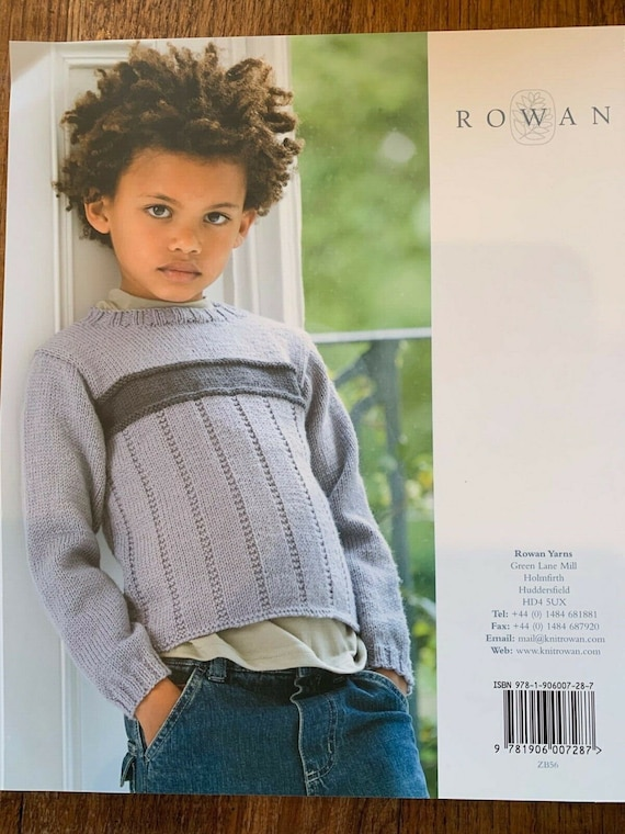 Rowan SIMPLE SHAPES Summerspun and Purelife Revive~BOOK NOT READ~Sarah Hatton~