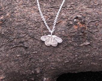 Tiny Moth Necklace