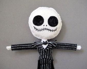 Jack Skellington Nightmare Before Christmas Plush Doll