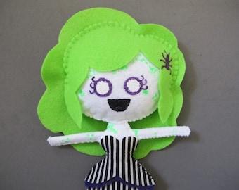 Beetle Jules Beetlejuice Girl Plush Doll