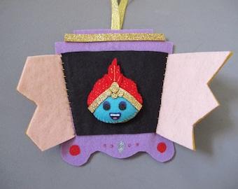 Jambi the Genie Pee Wee's Playhouse Plush Ornament