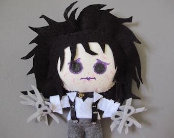 Edward Scissorhands Plush Doll