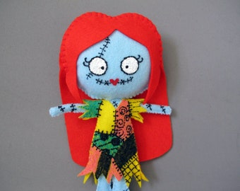 Sally Nightmare Before Christmas Plush Doll