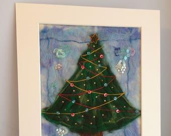 Oh Christmas Tree! Felted Artwork