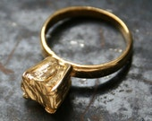 Gold plated Rockwell Ring part II by Macha