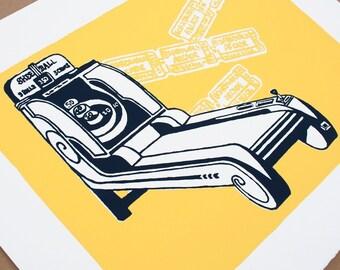 Boardwalk Arcade - Limited Edition Silkscreen