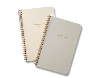 Password Book, Internet Address Notebook, Password Logbook