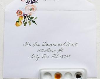 Envelope Addressing Service (for Paintcrush invitation suites)