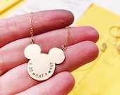 Mickey Mouse necklace in ...