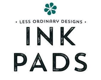 All purpose Inkpads or Pigment-Based Ink Pads, Rubber Stamp Pad - Many Colors to Choose From