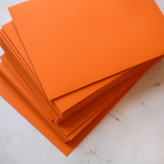 orange 5 x 7 envelopes a7 orange invitation envelopes are etsy