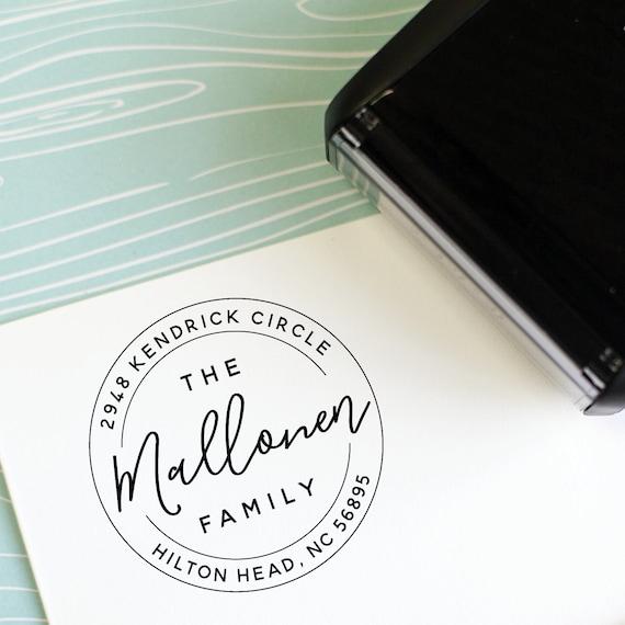 Custom Return Address Stamp Housewarming Gift Self Inking Return Address Stamp Address Stamp Personalized Address Stamp