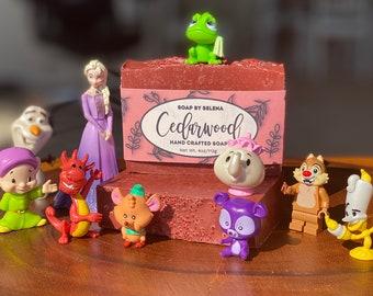 Cedarwood Essential Oil Handmade Soap
