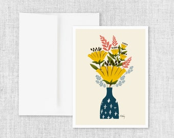 Be Deeply Rooted - Greeting Card