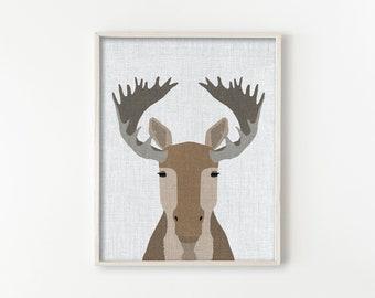 Moose - Modern Animals Series