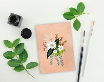 Retro Bouquet Painting