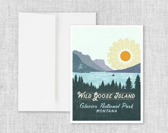 Wild Goose Island - Greeting Card