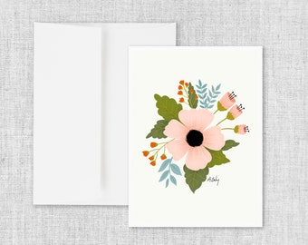 August Days - Greeting Card