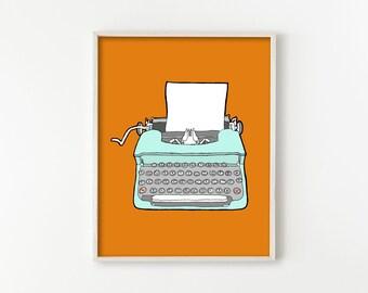 Vintage Typewriter No. 4