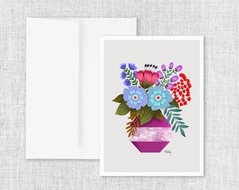 Bloom and Thrive - Greeting Card