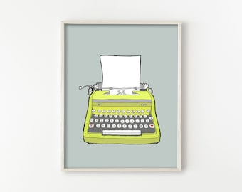 Vintage Typewriter No. 1