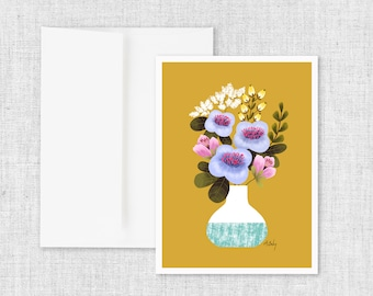 Earth Day Bouquet - Greeting Card