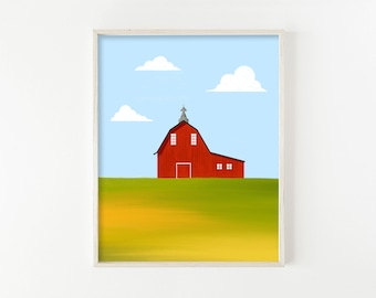 """Red Barn No. 1"""