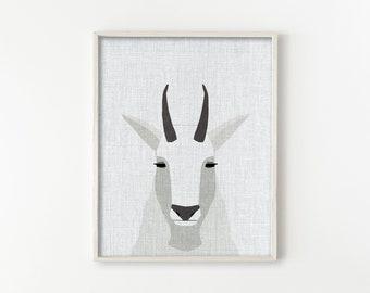 Mountain Goat - Modern Animals Series