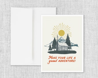 A Grand Adventure - Greeting Card