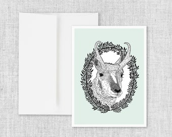 High Plains Drifter - Greeting Card and Envelope