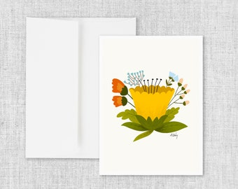 Buttercup - Greeting Card