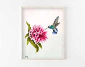 """Hovering"" - fine art print"