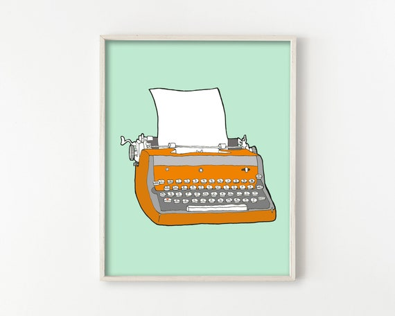 Vintage Typewriter No. 7