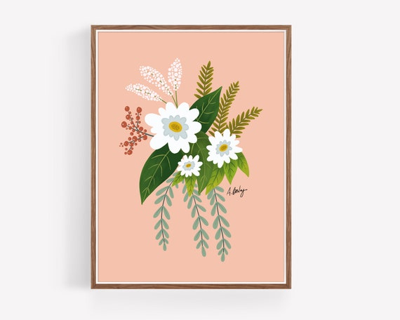 """Folk Art Flowers No. 1"""