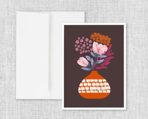 """Embers"" - Greeting Card"