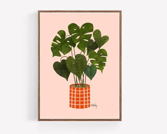 Plaid Planter