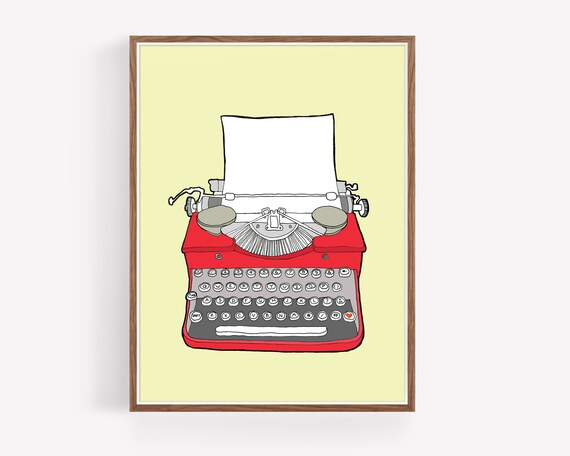 """Vintage Typewriter No. 3"""