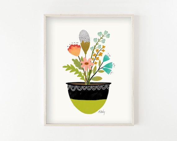 All Good Things - illustration print