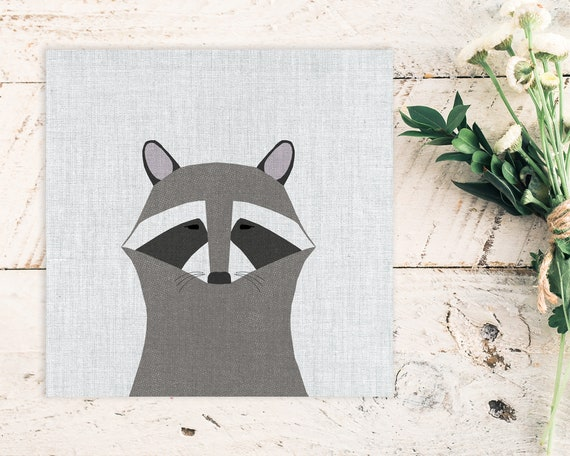 """Modern Raccoon"" - STUDIO SALE!"