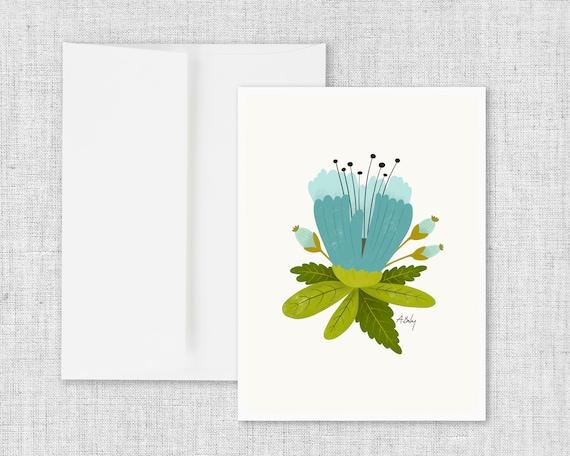 Blume - Greeting Card