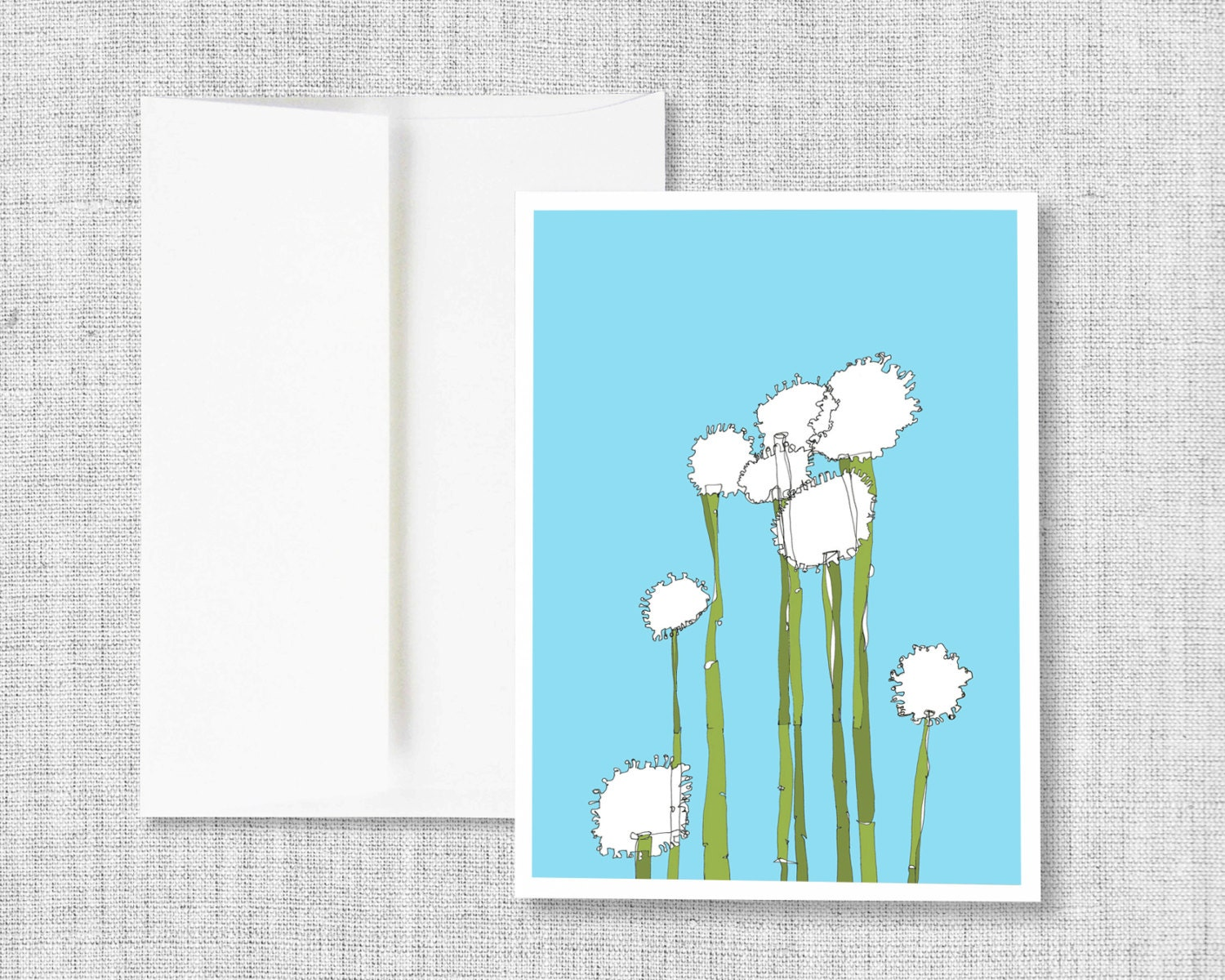 Globetrotters greeting card blank greeting card greeting card globetrotters greeting card blank greeting card greeting card set greeting cards handmade drawing flower drawing blue white green m4hsunfo