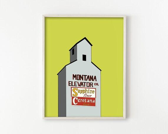 Fergus County Grain Elevator