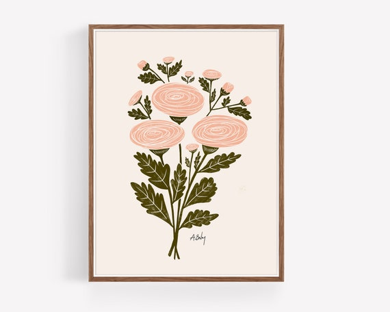"""Ranunculus Bouquet"""