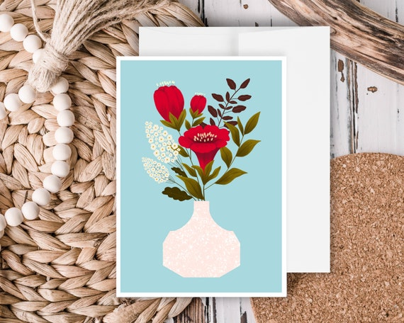 """""""Everything Lovely"""" - Greeting Card"""