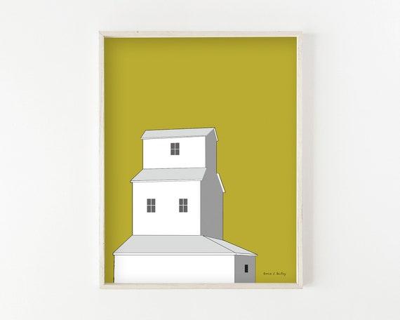"""Sunset Elevator"" - fine art print"